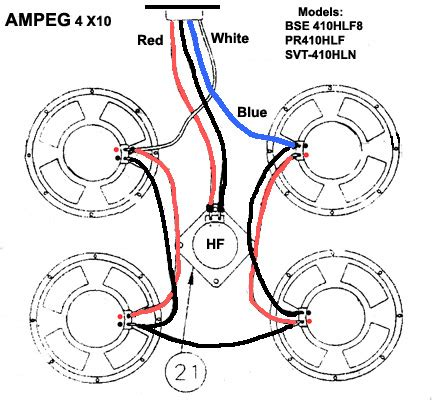 wiring diagram help for 4x10 talkbass