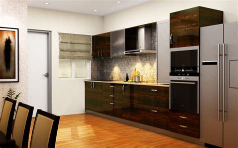 best small kitchen paint ideas straight away design buy heron urban straight kitchen online homelane india