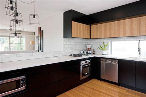 black or white kitchen cabinets church st lilyfield premier kitchens 7896