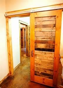 Reclaimed Pallet Wood Doors - Rustic - Hall - Dallas