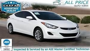 Used Cars For Sale in Phoenix,Az2012 Hyundai Elantra ALL Price Auto Sales LLC YouTube