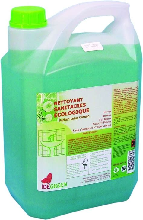 ide green nettoyant surfaces sanitaires 750 ml hypronet fr