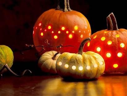 Pumpkin Fall Wallpapers Pumpkins Desktop Halloween Autumn