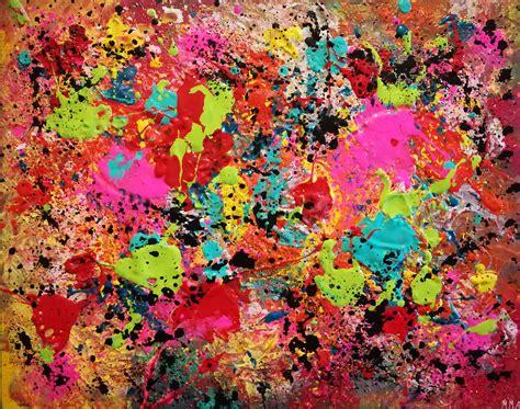 color splatter colorful paint splatter 213301 paintings for sale