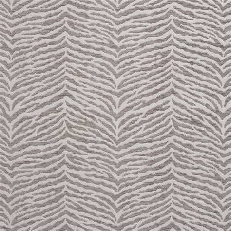 grey upholstery fabric b0870a grey and silver woven zebra look chenille