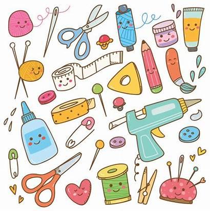 Craft Crafts Tools Supplies Arts Diy Vector