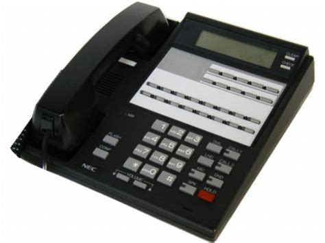 nec phone system manual nec phone nitsuko 16 button i series display phone