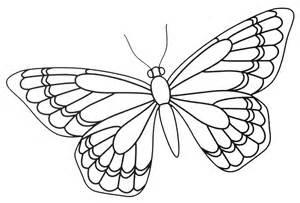 Butterfly Zentangle Template