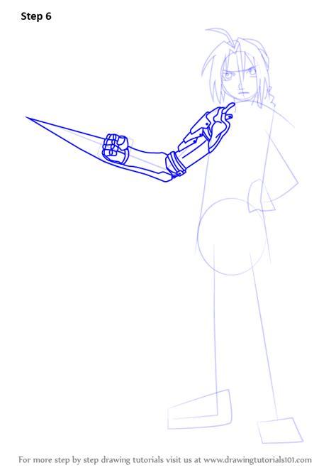 learn   draw edward elric  fullmetal alchemist