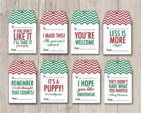diy printable gift tags   real  holiday