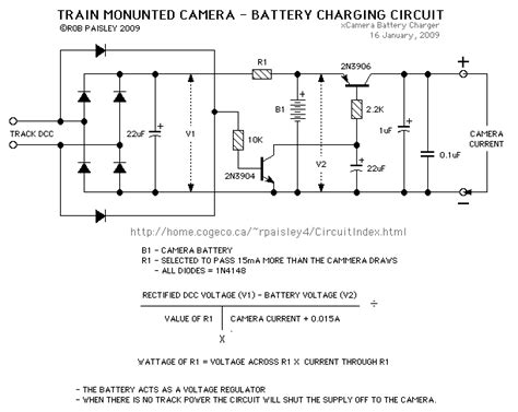 Train Mounted Camera Battery Charger Power Supply