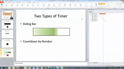 add template to powerpoint how to add a timer to a powerpoint 2010 presentation