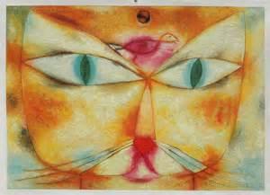 paul klee cat and bird cat and bird paul klee paintings