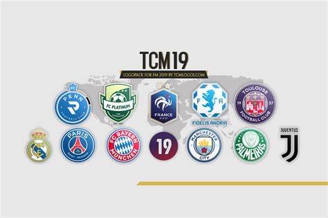 Football Manager Tcm 2019 Logos Megapack • Passion4fm