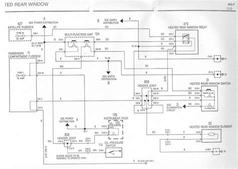 peugeot  wing mirror wiring diagram wiring library