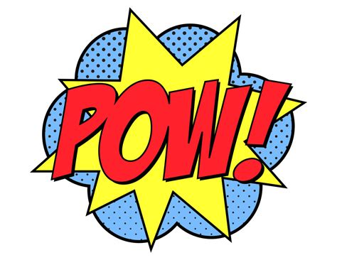 Pow Clipart Pow Images Www Imgkid The Image Kid Has It