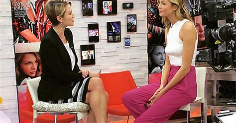 Supermodel Karlie Kloss Dwarves Host Amy Robach On Good