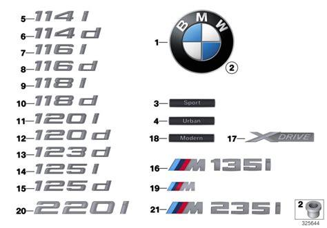 genuine bmw emblem badge logo         series