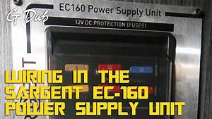 Wiring In A Sargent Ec-160 Power Supply Unit