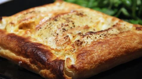 tarte feuillet 233 e au maroilles et au cumin not parisienne