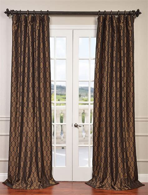 17 best images about faux silk flocked curtains on