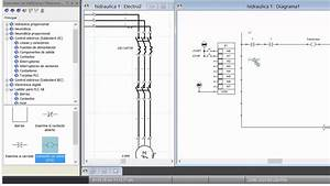 Circuito El U00e9ctrico Y Control Por Plc