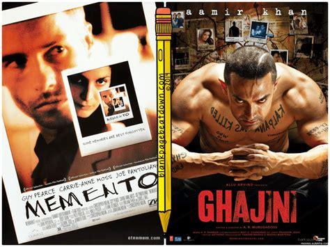 Meme To - split screen memento 2000 ghajini 2008 blank page beatdown