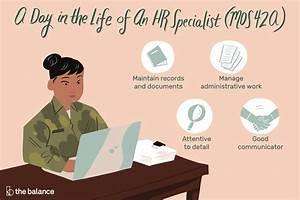 Human Resources Specialist  Mos 42a  Job Description