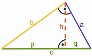 Rechtwinkliges Dreieck Online Berechnen : kathetensatz und h hensatz mathematik online lernen ~ Themetempest.com Abrechnung