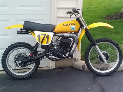 1977- Suzuki Rm250b, Restored And Tricked Out.