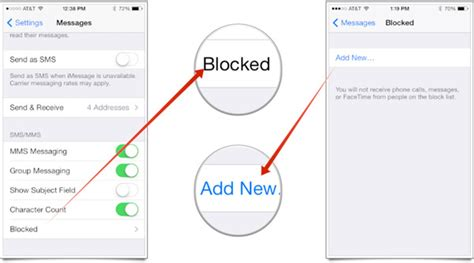 how to block a contact iphone how can i block calls and messages on iphone