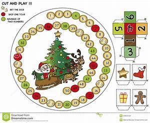 Weihnachtsspiel Stock Abbildung Illustration Von Feiertag