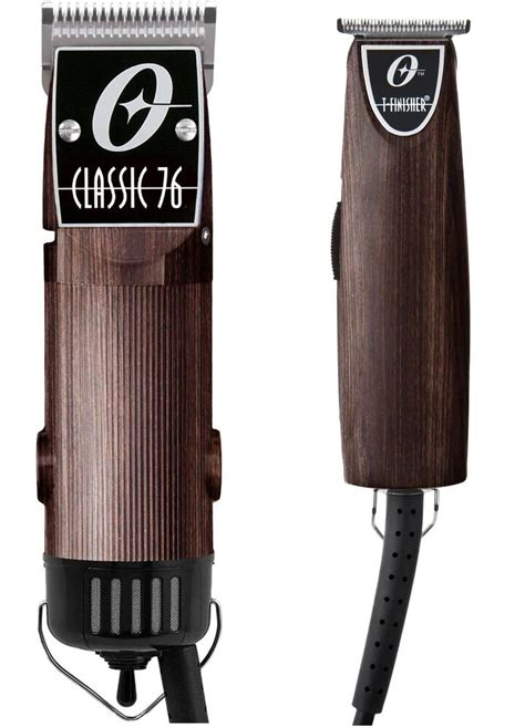 oster classic hair clippert finisher combo woodgrain professional