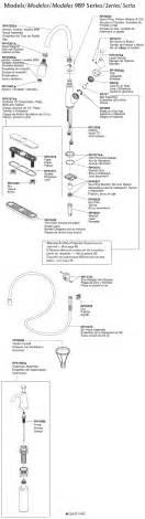 delta allora kitchen faucet 100 parts of a kitchen faucet standard plumbing