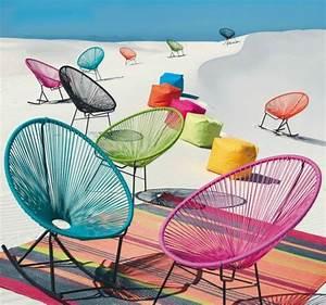 Fauteuil Acapulco Maison Du Monde : coup de fauteuil scoubidou de maisons du monde deco trendy a t e l i e r fauteuil ~ Teatrodelosmanantiales.com Idées de Décoration