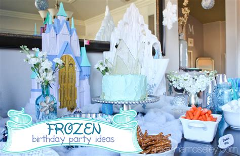 Frozen Birthday Party  Ask Anna