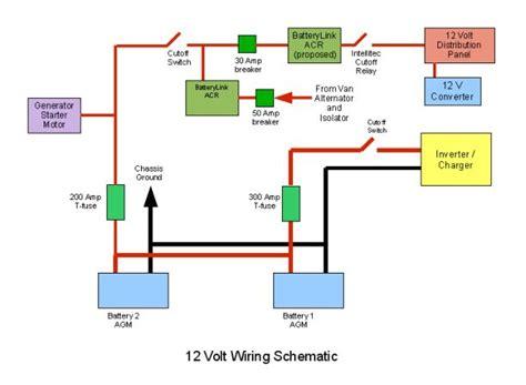 12 Volt Dc Wiring Diagram 12v dc wiring roadtreker