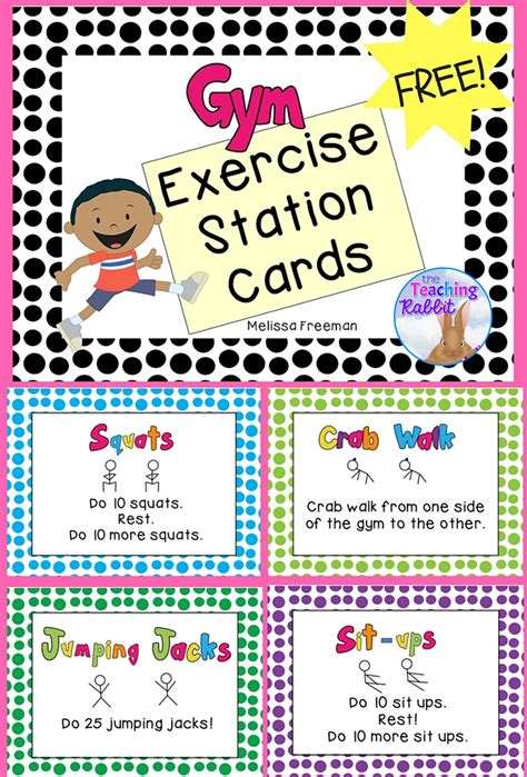 exercise posters preschool workouts 785 | 67d9ebea6ef843abaef9cbaf1afe5f03
