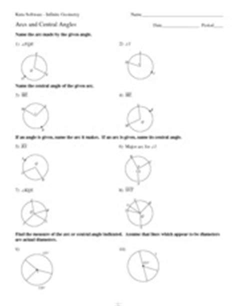 11 arcs and central angles p j 2 6 r 1 w 2 d 8 k f u k t
