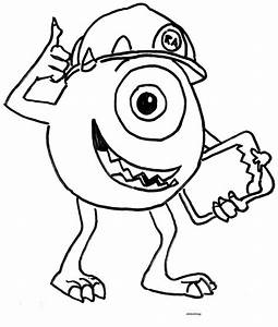 Printable Didi Coloring Monster Inc Hero Didi Coloring Page