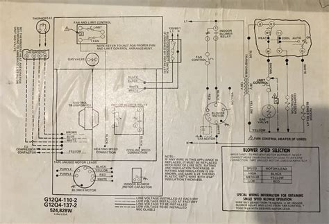 how do i connect the spare c wire to the old lennox system lennox g12q4 110 home