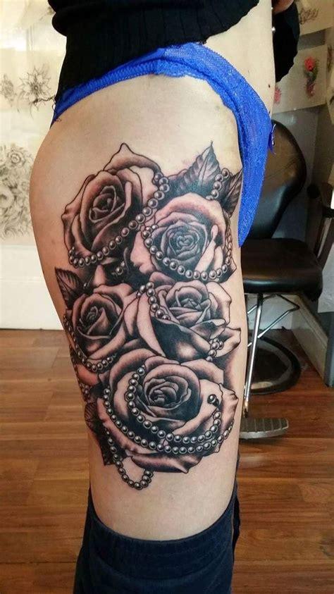 ideas  pearl tattoo  pinterest rose tattoo