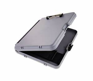saunders clipboard case plastic storage workmate portable With hard plastic document case