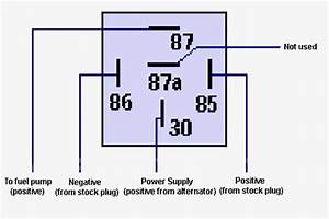 5 Pin Relay Wire Wiring Diagram Throughout