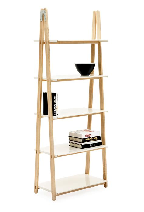 One Shelf Bookcase by One Step Up Shelf Bookcase Wood White By Normann