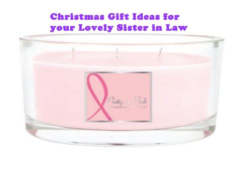 christmas gift ideas for your lovely sister in law