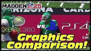 Madden 25 Next Gen 1080p Graphics Gameplay Comparison ...
