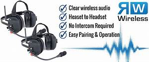 Wireless Double Talk Dual Headset Intercom System  Rw