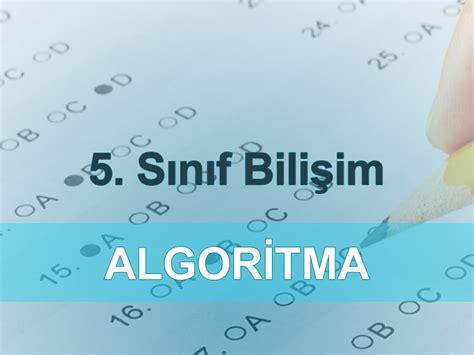 Testi Coez 5 Sinif Algoritma Testi Coz Test 199 246 Z Test Deneme