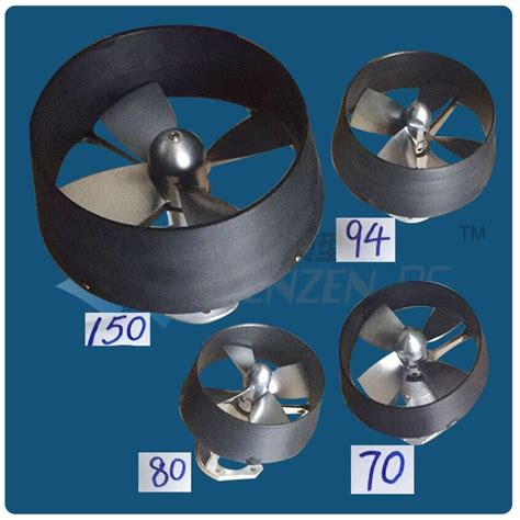 Electric Propeller Motor by Dia 150mm 4 Blades Kort Nozzle Ducted Propeller Assembly